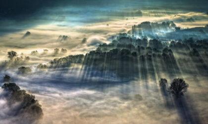 La foto scattata in riva all'Adda è la più bella al mondo sui fenomeni meteorologici