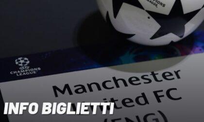 Manchester United-Atalanta, dall'8 ottobre alle 12 biglietti in vendita