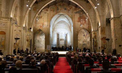 Inaugurazione del nuovo anno accademico all'Università di Bergamo, ospiti Casellati e  Locatelli