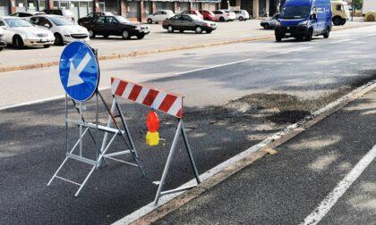 Nuovo asfalto nelle vie Marzanica, Calvarola e Borgo Palazzo: le modifiche alla viabilità